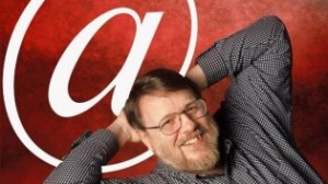 "The inventor of ""@"" - Ray Tomlinson"